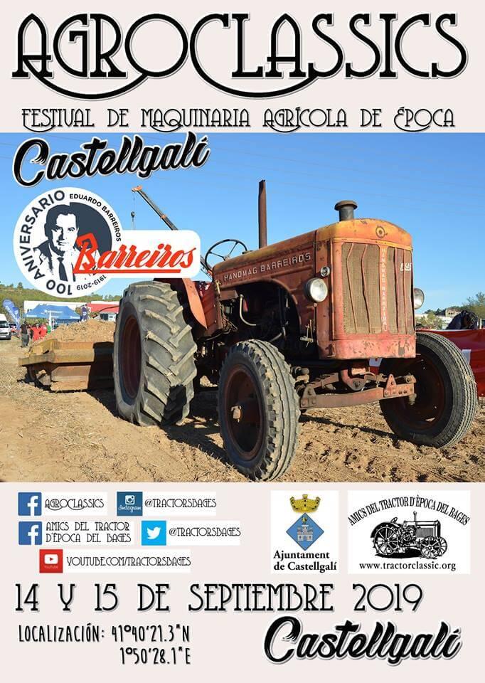 Concentración Tractores Clásicos Barcelona