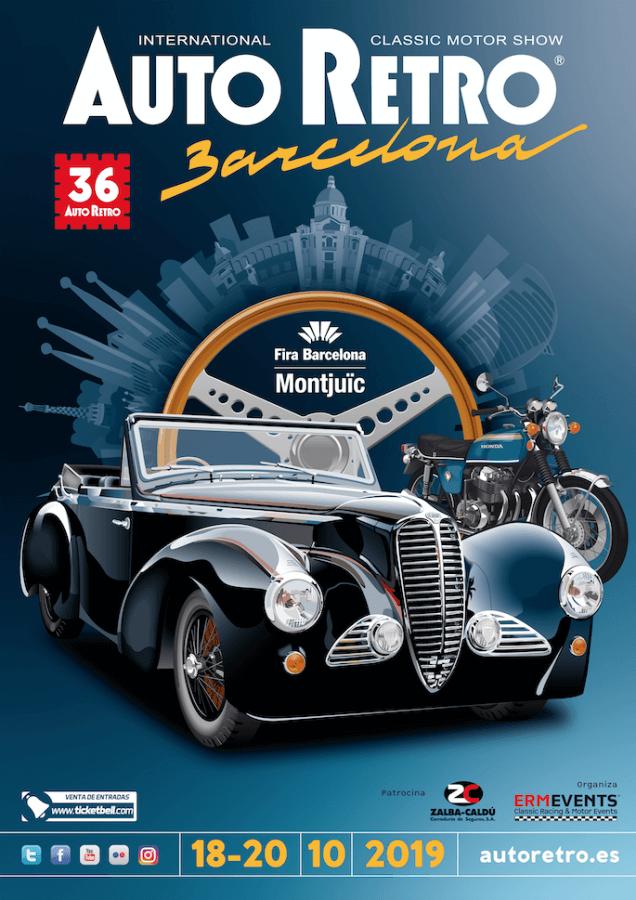 Concentraciones coches clásicos Barcelona