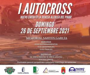 Autocross en Circuito la Dehesa Alcolea del Pinar, Guadalajara