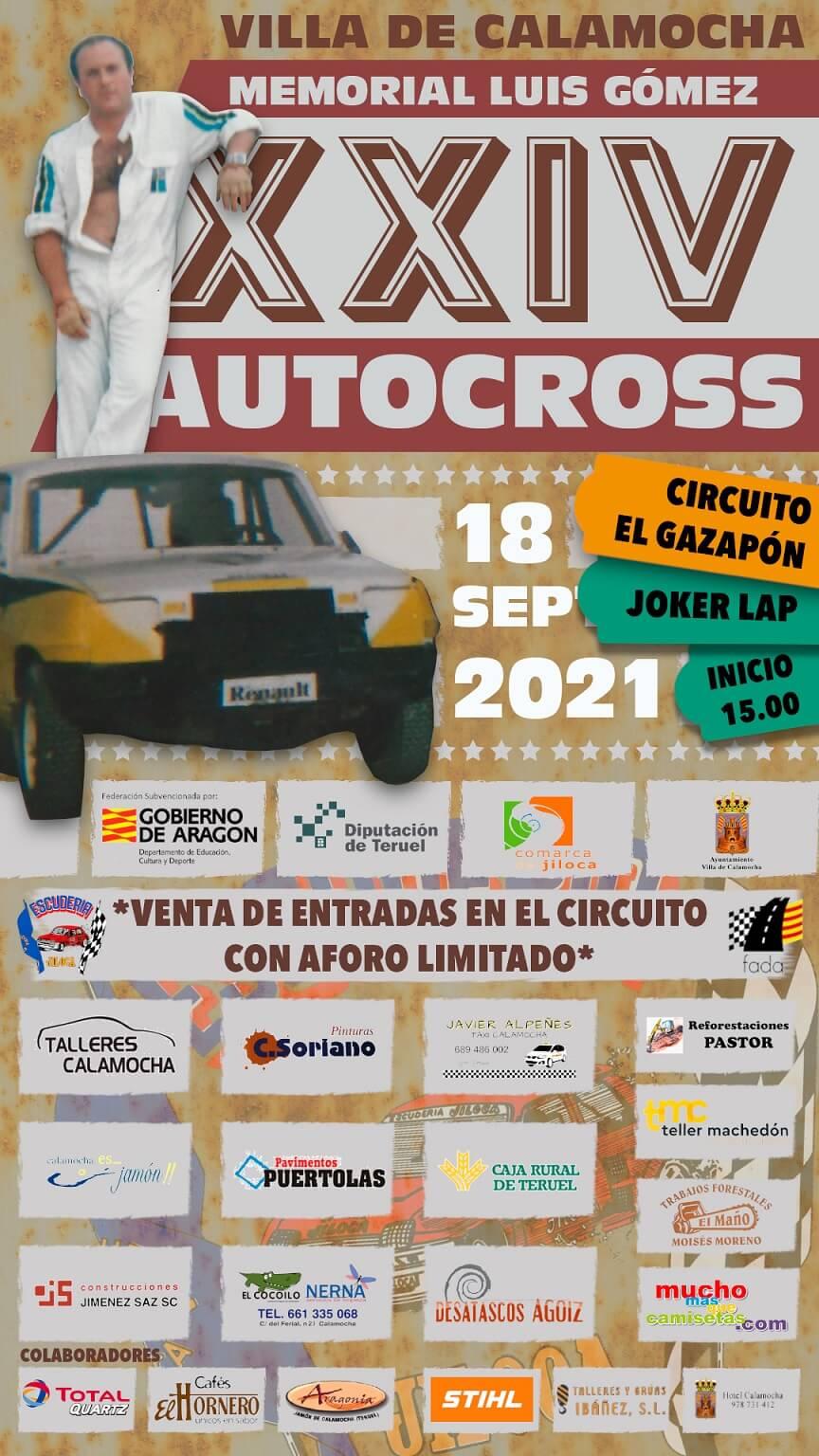 Autocross en Calamocha
