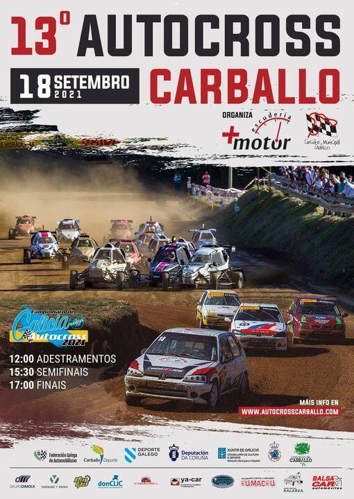 Autocross en Carballo, La Coruña