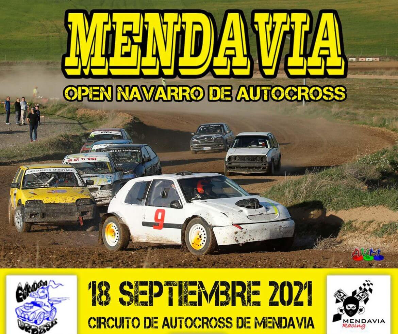 Autocross en Mendavia, Navarra