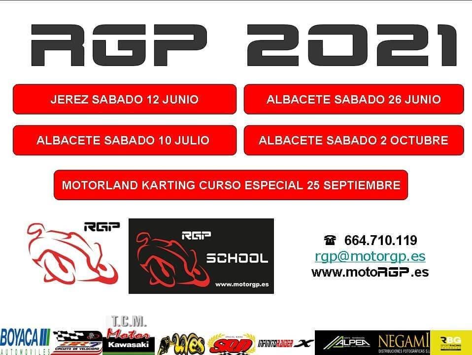 cursos de conducción RGP School