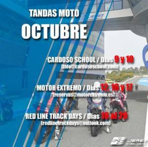 Tandas moto en Jerez