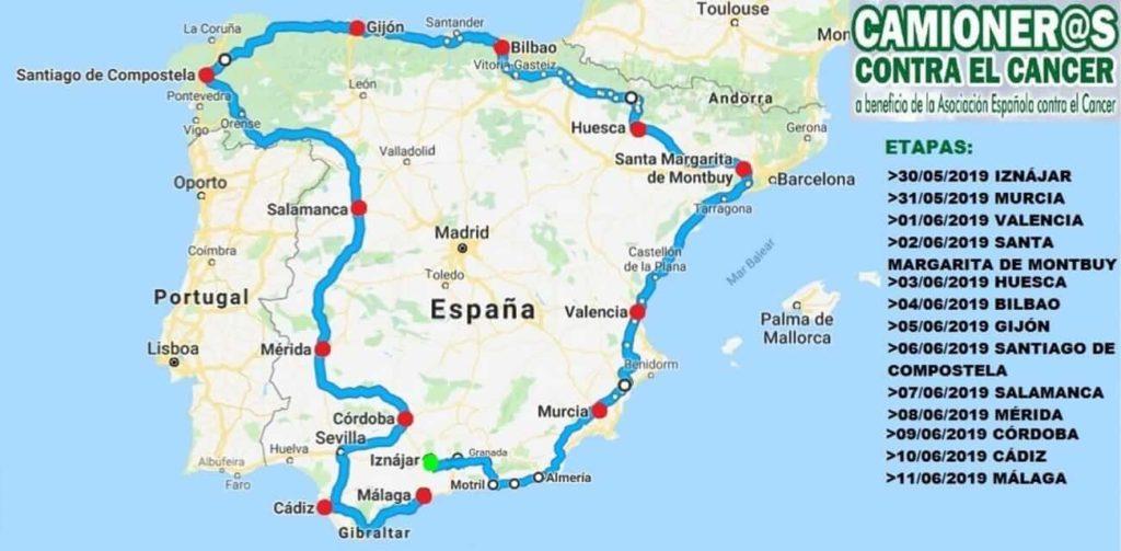 Camioneros Contra el Cáncer en Murcia