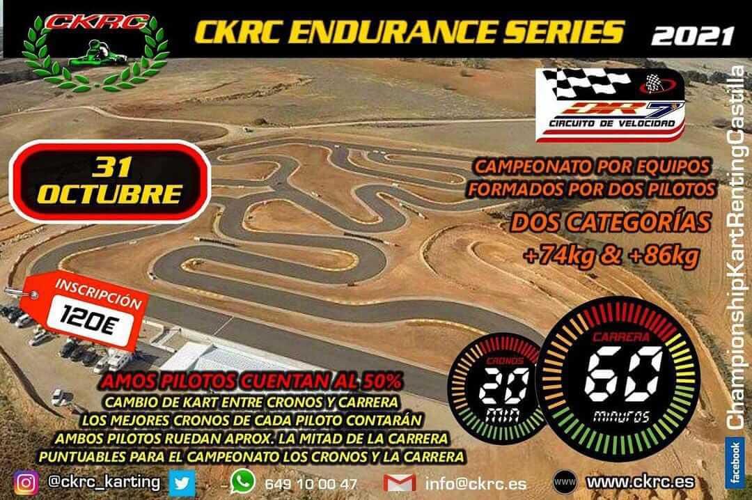 Carrera Resistencia Karting en Cuenca