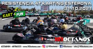 Carrera resistencia Karting en Estepona, por 103 Octanos