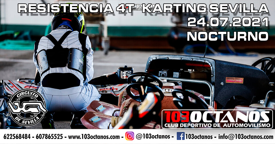 Carrera Resistencia Karting en Sevilla