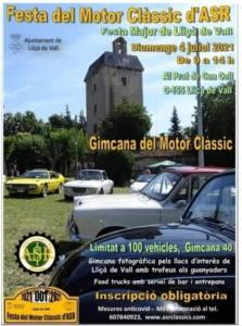 Concentración de vehículos clásicos en Lliçà de Vall