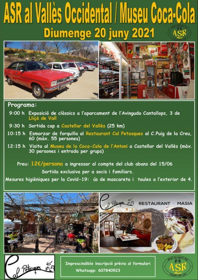ruta clasicos ASR en Catalunya