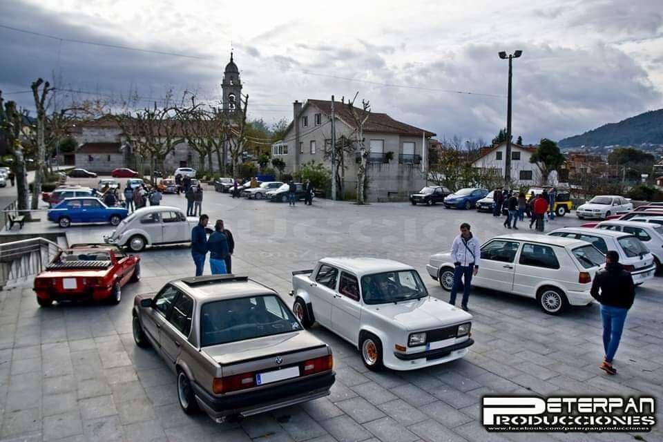 Concentración Vehículos Clásicos en Beade, Vigo