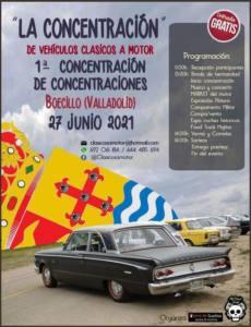 Concentración Vehículos Clásicos en Boecillo, Valladolid