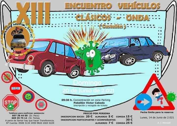 Encuentro Vehículos Clásicos en Onda, Castellón de la Plana