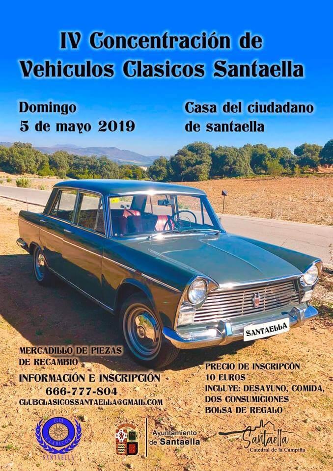 Concentraciones coches clásicos Córdoba