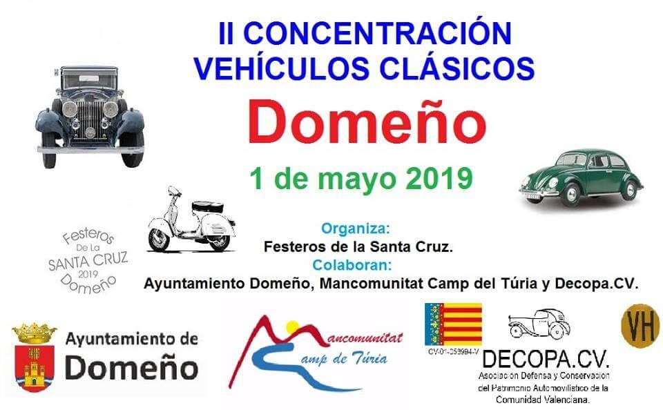 coches clasicos valencia domeño