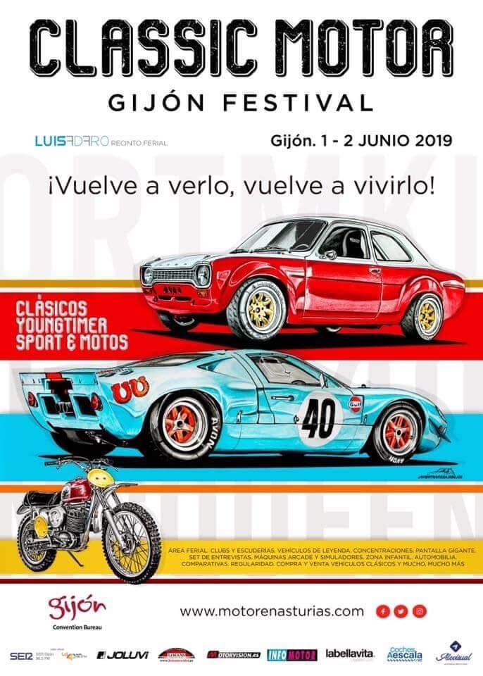 concentraciones coches clasicos Asturias