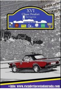 Rally regularidad coches clásicos Perafort, Tarragona