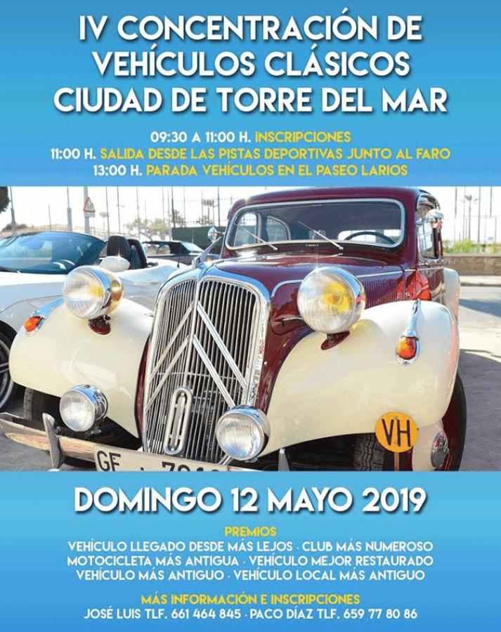 concentracion coches clasicos andalucia