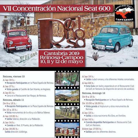 concentracion coches clasicos Cantabria