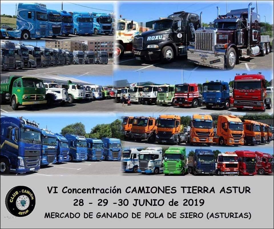 concentraciones camiones clasicos Asturias