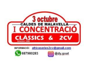 Concentració Clàssics i 2CV en Girona