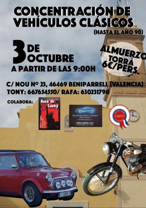 Concentración Clásicos en Valencia