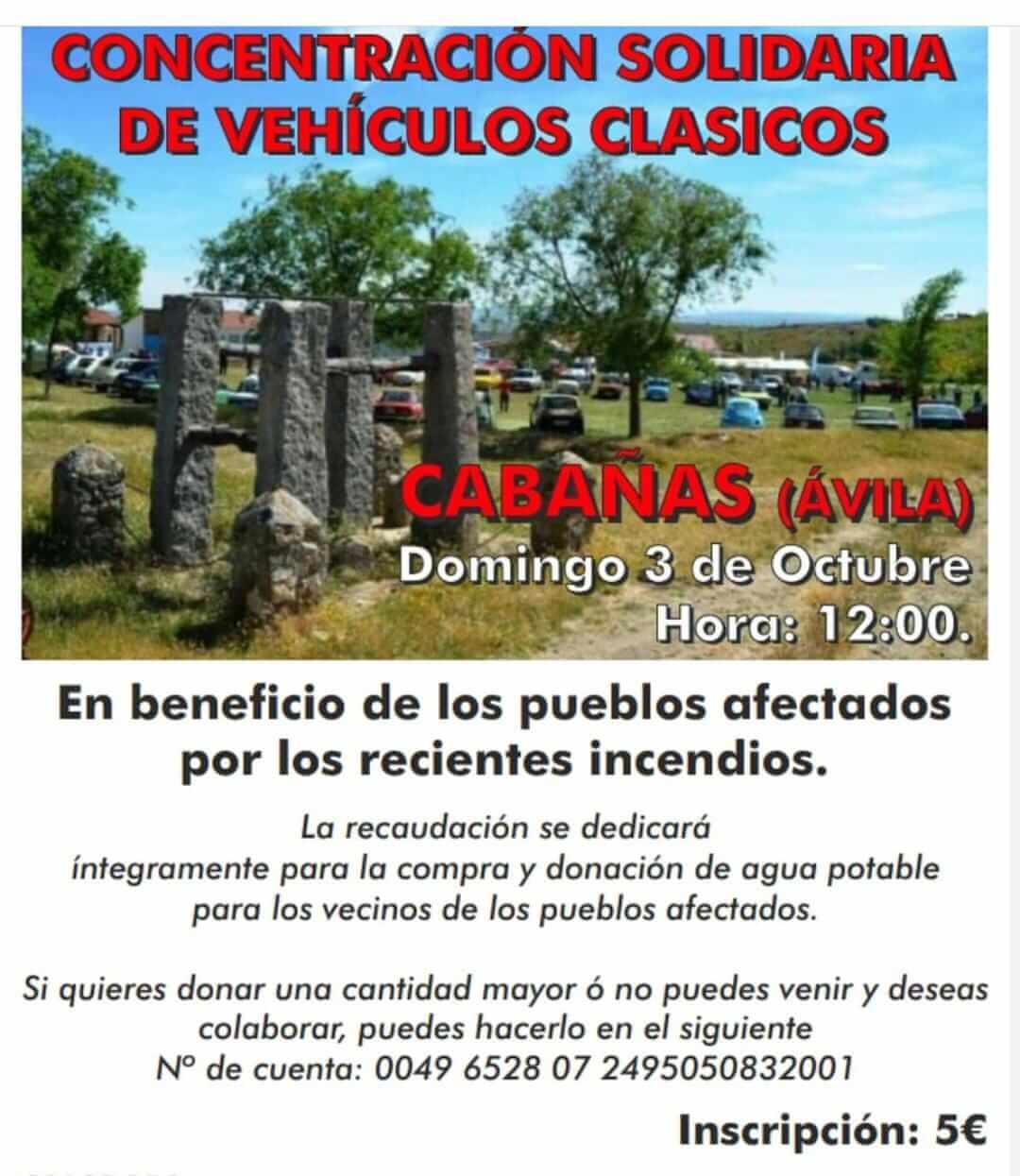 Concentración coches y motos Clásicos en Ávila