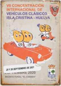 Concentración Clásicos en Isla Cristina, Huelva