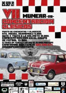 Cocentración Vehículos Clásicos en Albacete