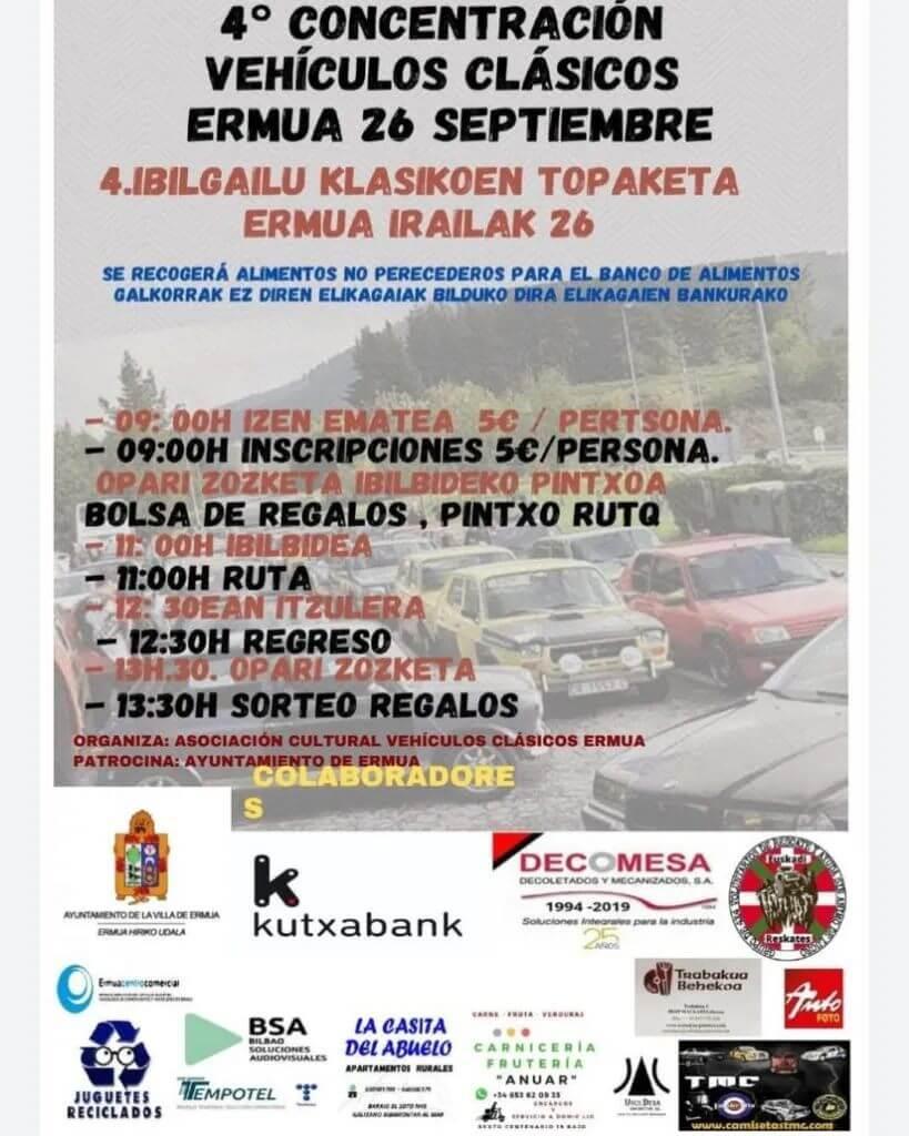 Concentración Clásicos en Ermua, Vizcaya