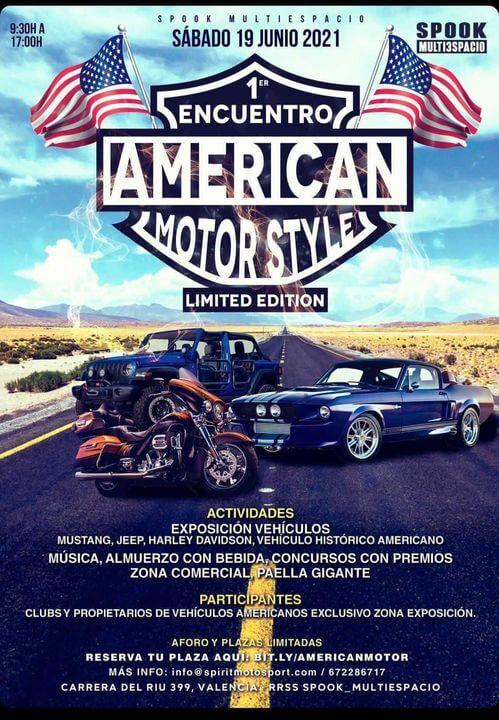 Encuentro American Motor Styles en Multiespacio Spook