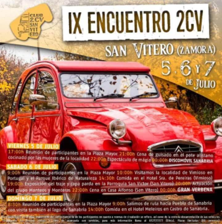 concentraciones coches clasicos Zamora