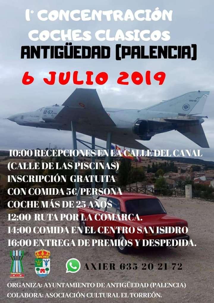 concentraciones coches clasicos Palencia