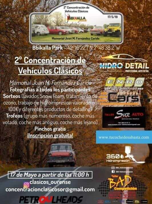 Concentraciones Coches Clásicos Ourense