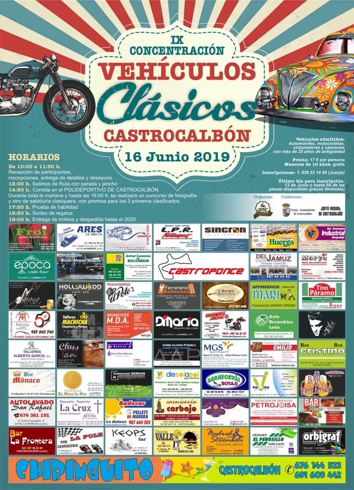 concentraciones coches clasicos Leon
