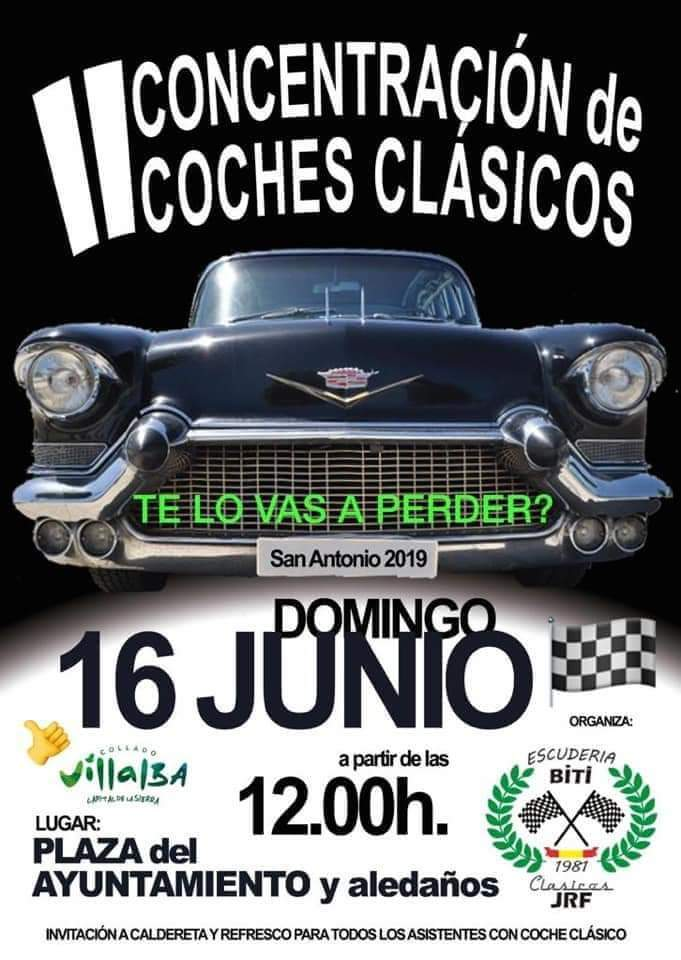 concentraciones coches clasicos Madrid
