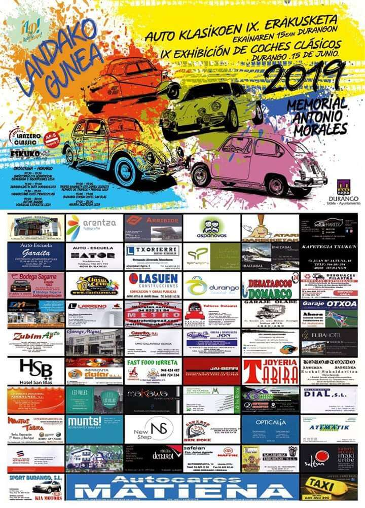 concentraciones coches clasicos Euskadi