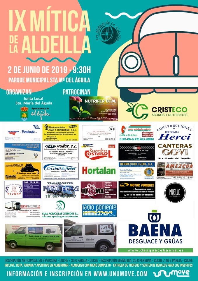 Concentraciones Coches Clásicos Almería