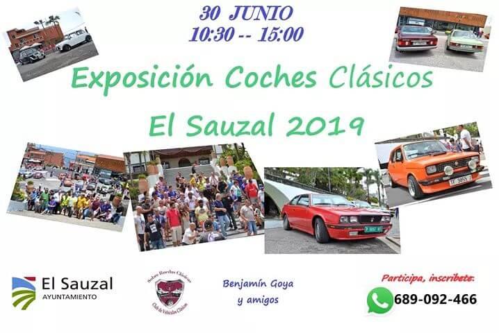 concentraciones coches clasicos Canarias