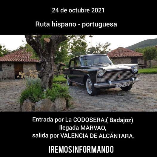 Ruta Clásicos Hispano Portuguesa en Badajoz