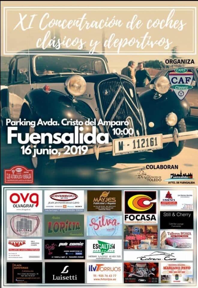 concentraciones coches clasicos Toledo