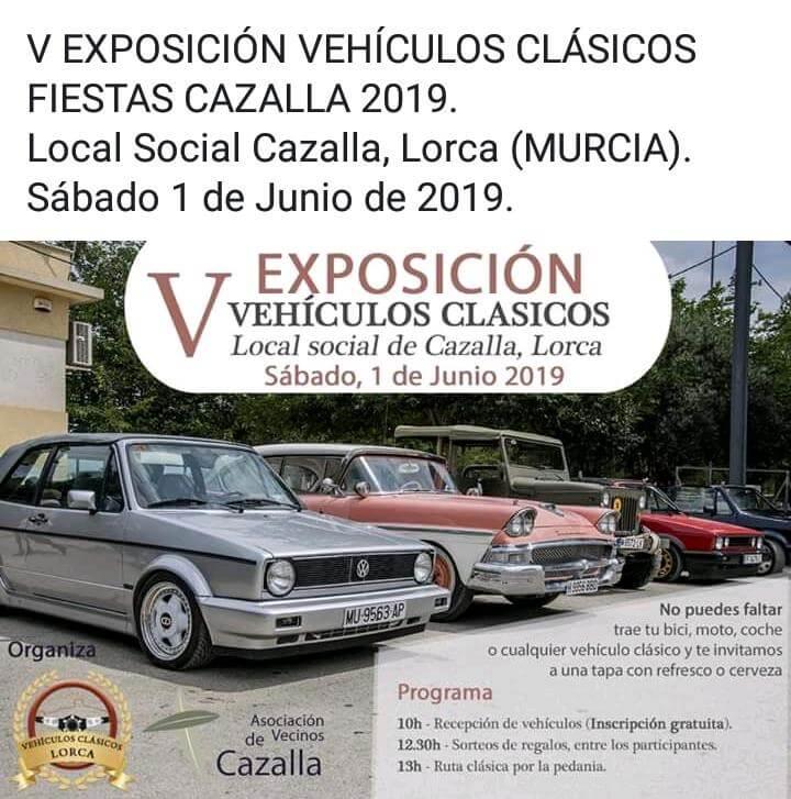 Concentraciones Coches Clasicos Murcia