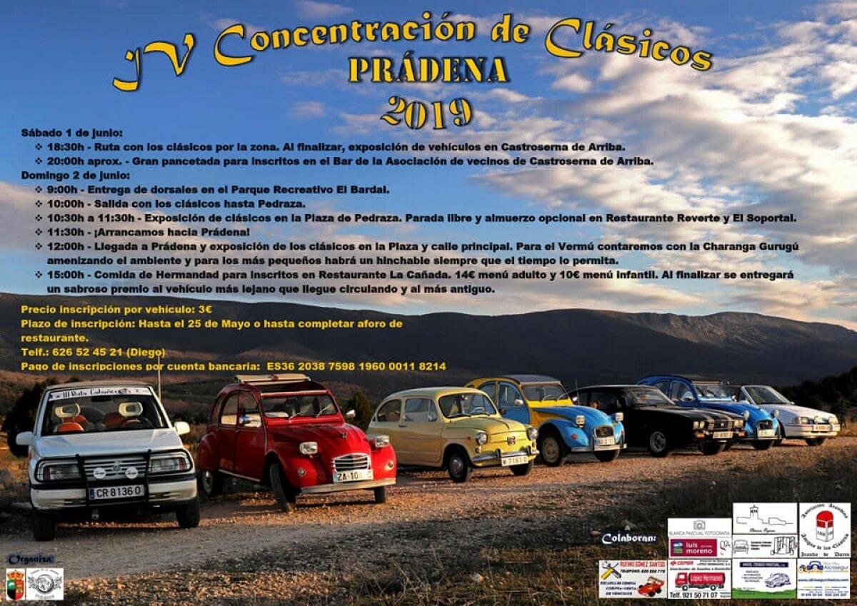 concentracion coches clasicos Segovia