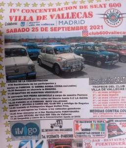 Concentración SEAT 600 en Madrid