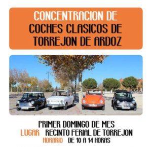 concentraciones coches clasicos Madrid