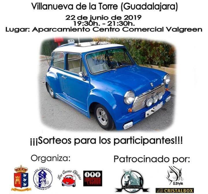 concentraciones coches clasicos Guadalajara