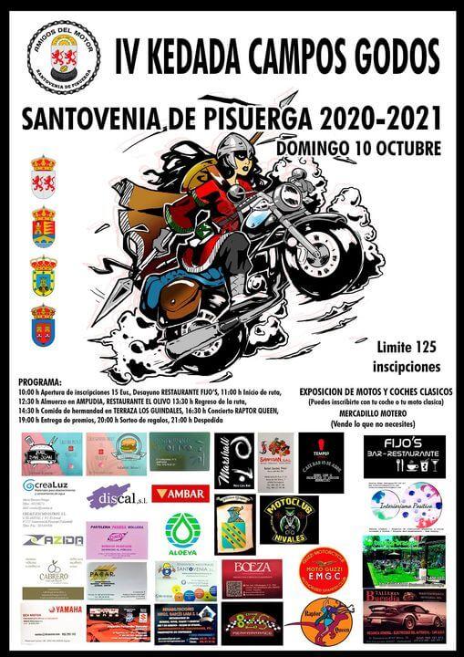 Quedada de Coches y Motos Clásicas Campos Godos, en Santovenia de Pisuerga