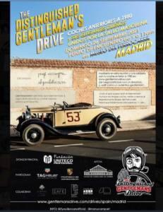 Concentración y ruta Distinguished Gentleman's Drive en Museo del Ferrocarril