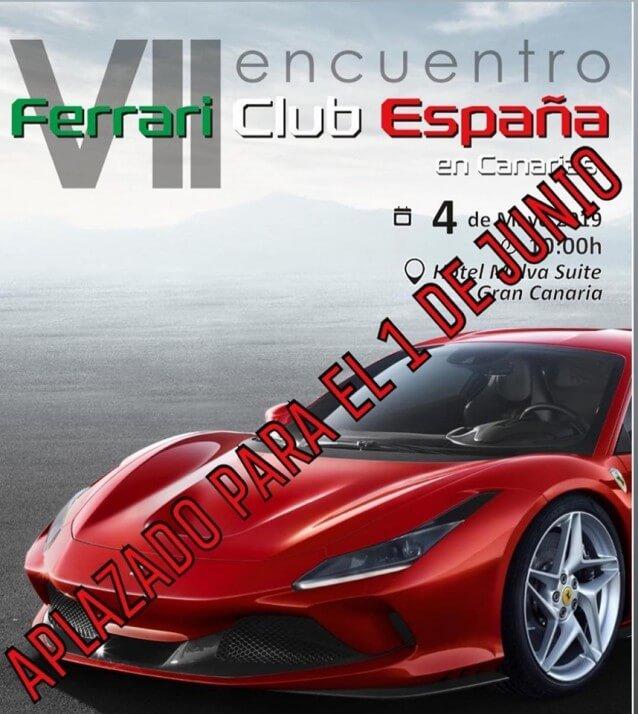 Coches Ferrari Canarias