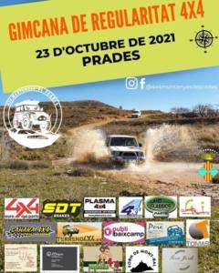 Gimcana de Regularitat 4x4 en Prades, Tarragona